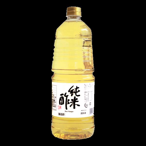 ハラール ベジタリアン ヴィーガン 対応商品 アルコール不使用 純米酢 1800ml NOYAMA